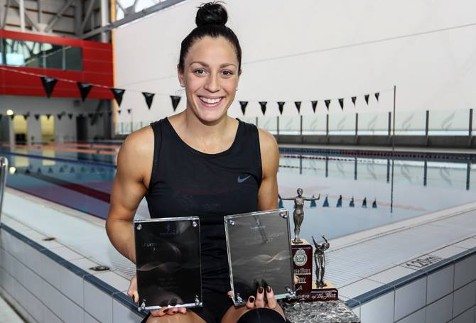 Pascoe awarded Swimming New Zealand Swimmer of the Year
